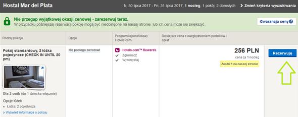Hotels.com promocje