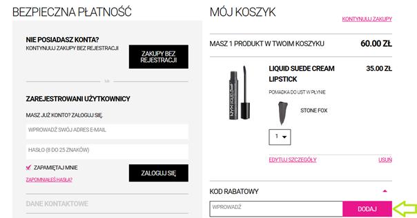 NYX Cosmetics promocje
