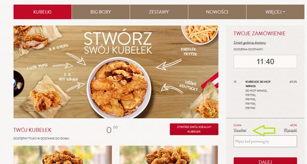 KFC promocje